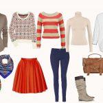 Базовый гардероб девушки