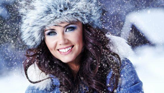 Снежная королева. Зимний макияж
