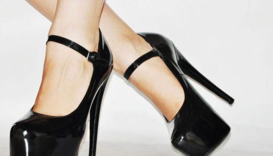 туфли с высокими каблуками